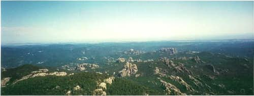 The view from Harney Peak...