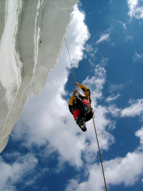 Getting out of a Crevasse