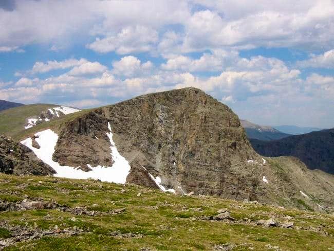 Sawtooth Mountains...