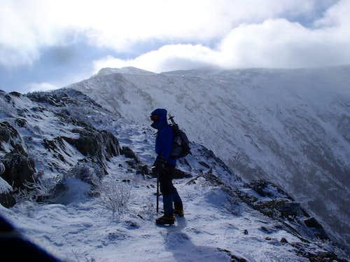 ascending the Durand Ridge