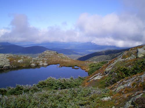 One of the Lakes of the Clouds
