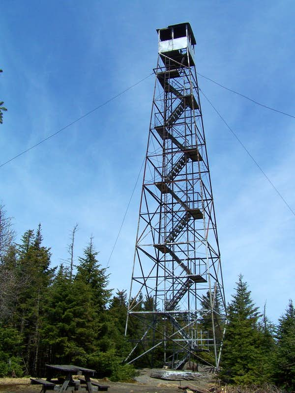 Adirondack fire towers climbing hiking mountaineering for Fire tower plans