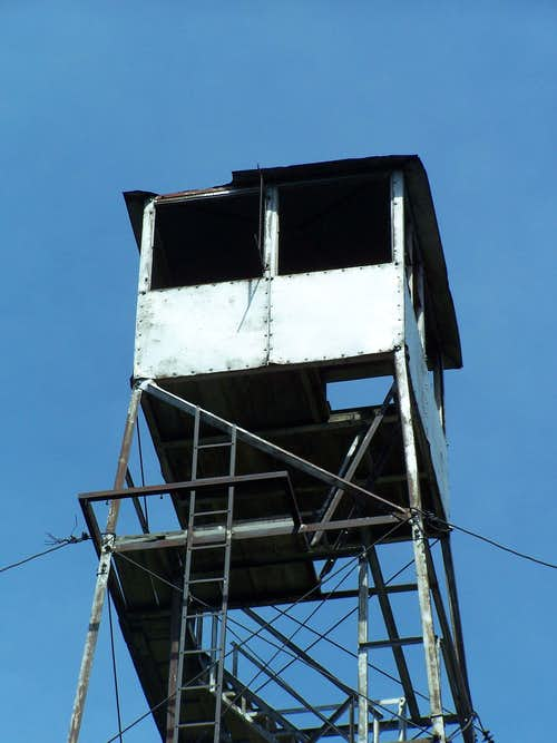 Wakely Mtn Firetower Cab