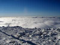 Undercast on Mount Washington Summit