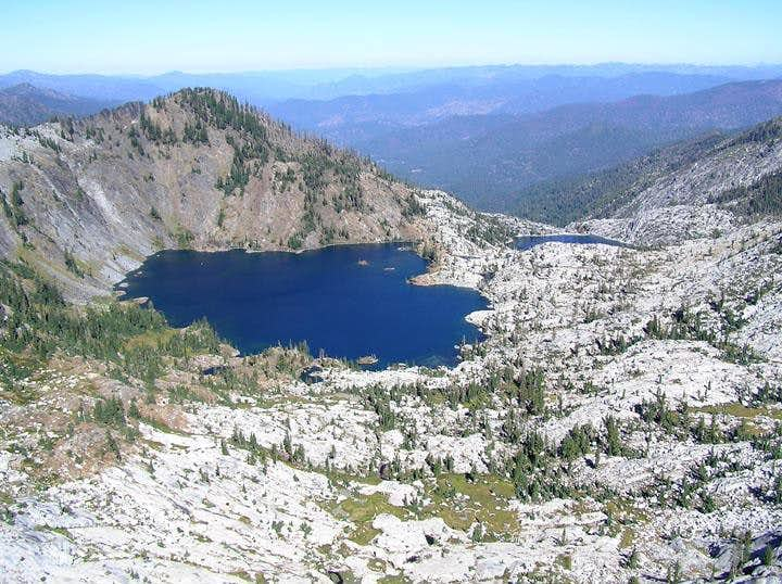 Caribou Lake, Trinity Alps