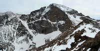 Longs Peak - East Face - Snow Cover, May 25, 2008