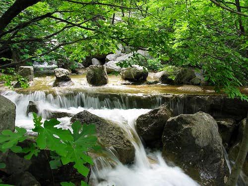 Velika Paklenica stream