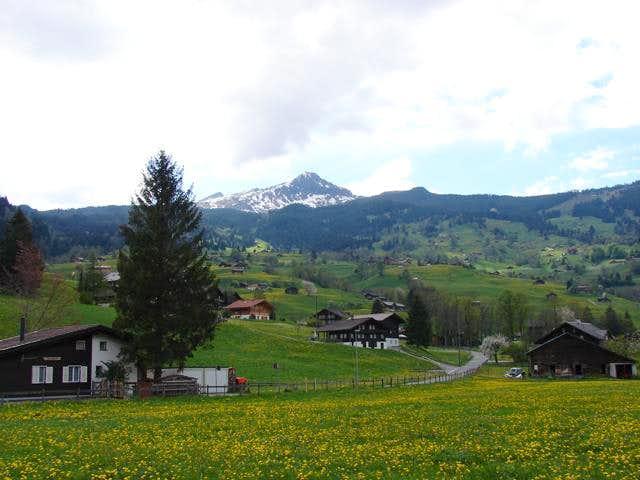 Tschuggen from Grindelwald