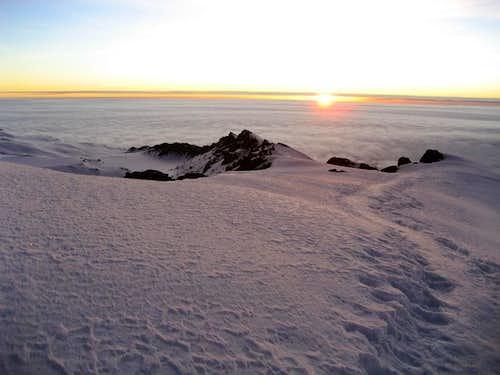 Stella Point. On the way to Uhuru peak