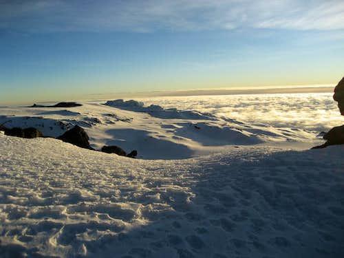 Kili summit cone