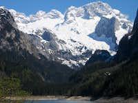 Dachstein from Gosausee /Austria/
