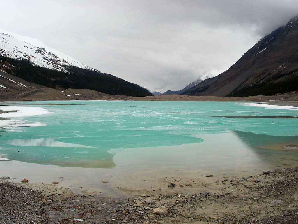 Glacier Fed Lake