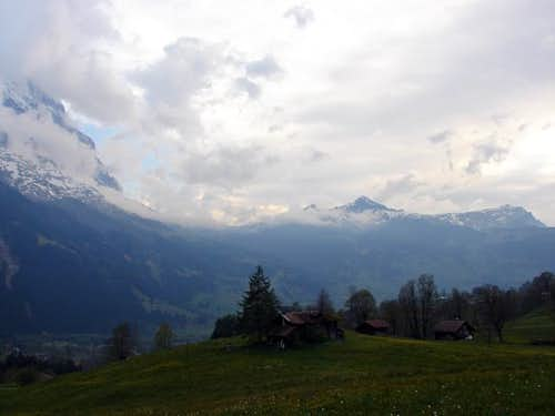Eiger and Tschuggen