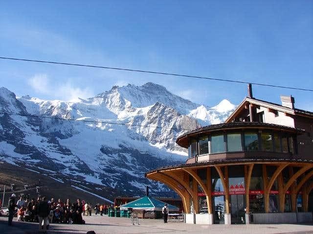 Kleine Scheidegg and Jungfrau