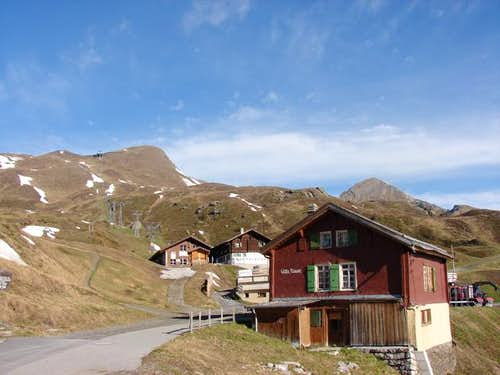 Lauberhorn and Tschuggen