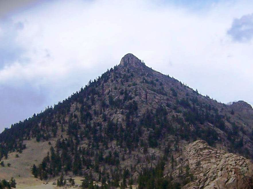 Sugarloaf Mountain from the South-southeast, another view