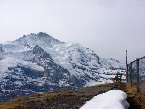 Summit of Lauberhorn