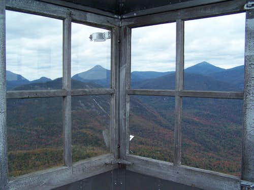 Mt. Adams Fire Tower View