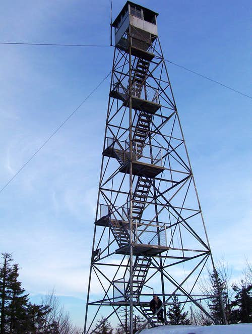 Goodnow Mtn. Fire Tower