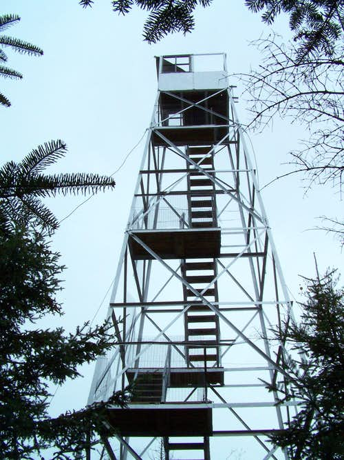 Mt. Adams Fire Tower