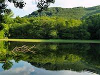 Lake at Szalajka valley