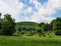 Mohos-töbör at the plateau of Bükk