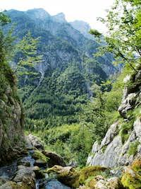 Izvir Soce (at the spring of Soca river)