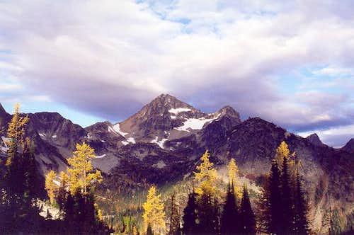 Black Peak as seen from the...