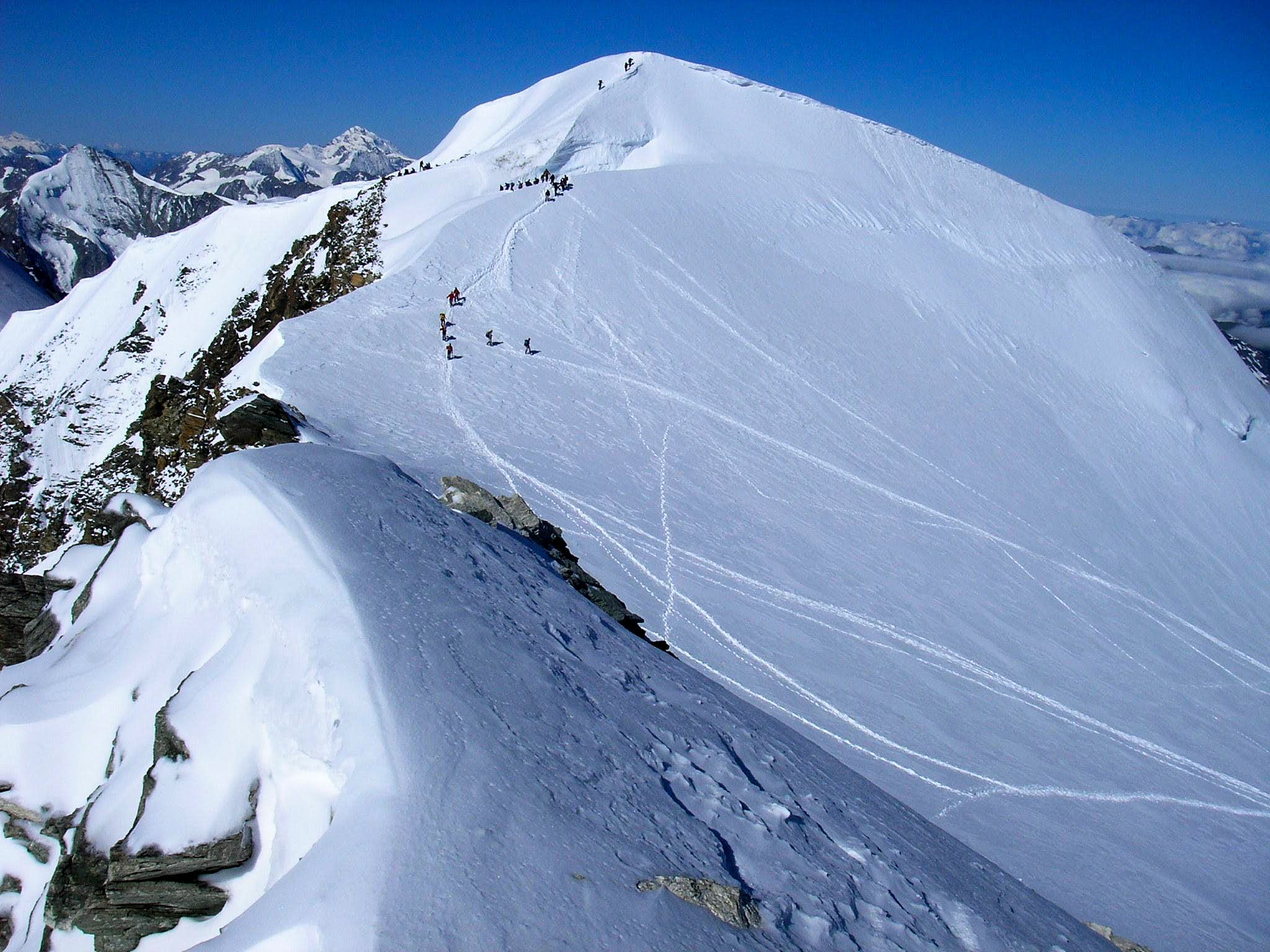 Bishorn NW flank Normal Route