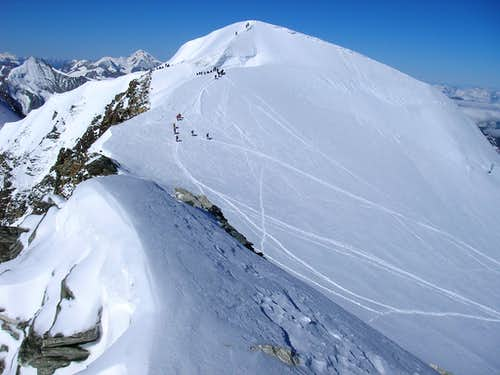 Summit of Bishorn 4153m