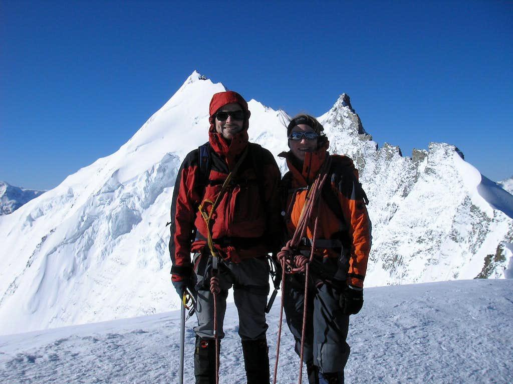 Summit of Bishorn 4153m
