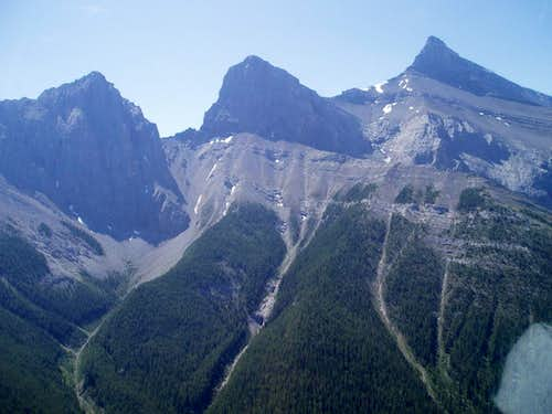Three Sisters Canadian Rockies