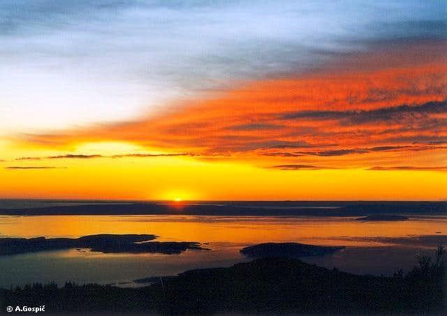 Zavizan sunset
