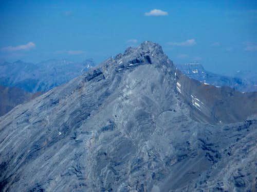 Big Sister -Scramble Route and Summit Pillars