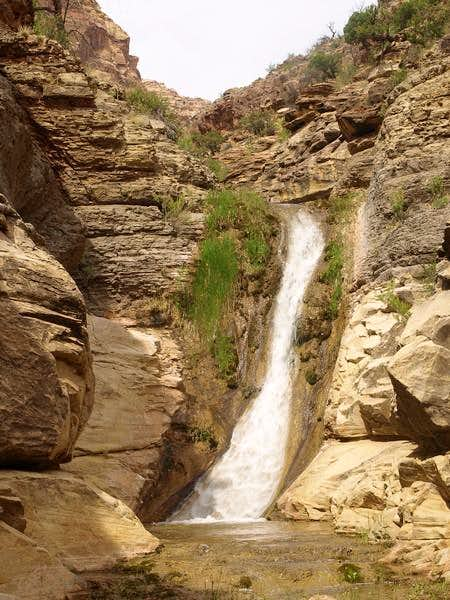 Young's Canyon waterfall