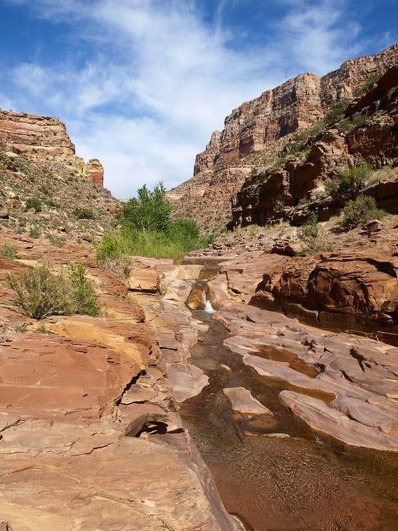 waterfall in Dark Canyon
