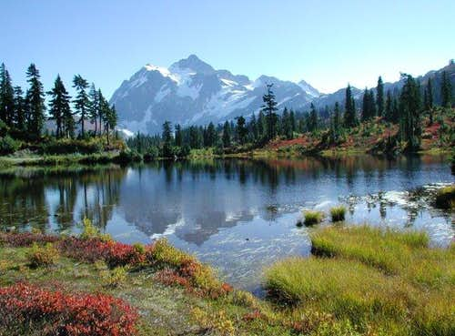 Photo of Mt Shuksan taken Oct...