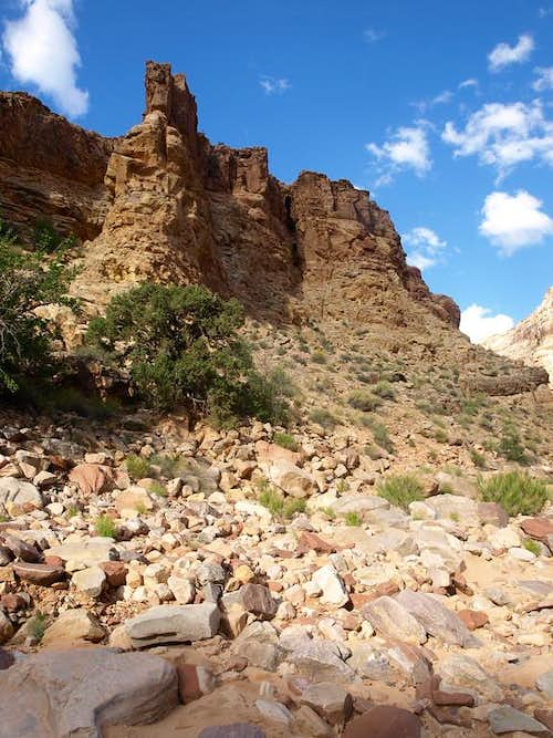 Lean-To Canyon wall