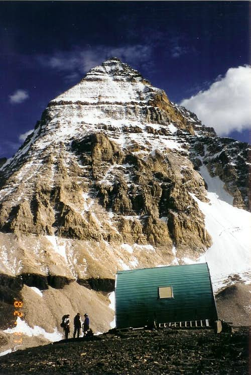 Assiniboine and Hind Hut