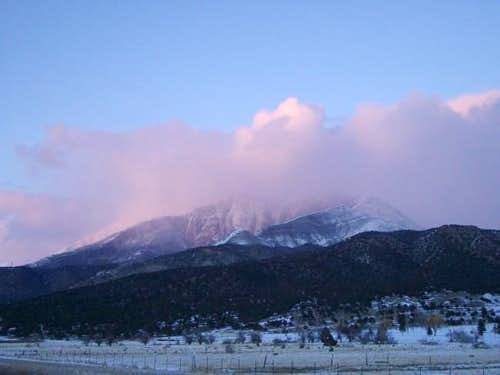 Mt. Nebo in January