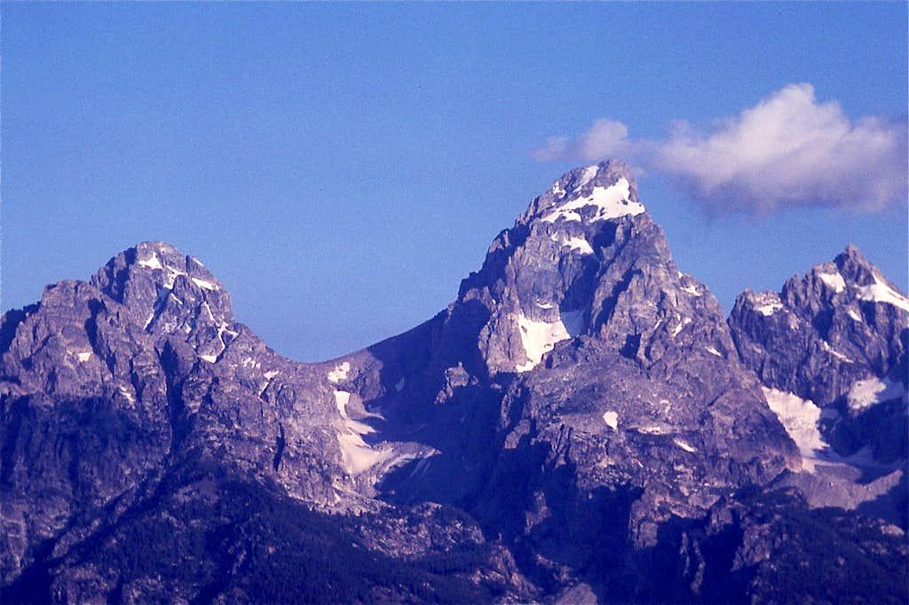 Middle Teton, Grand Teton and Mt Owen