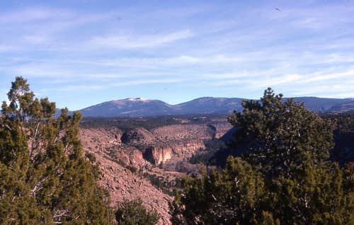 Jemez Mountains Region, NM