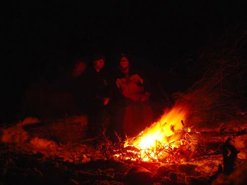 Ahhhhhh . . . fire!