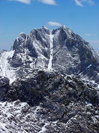 Crestone Peak from Challenger Point