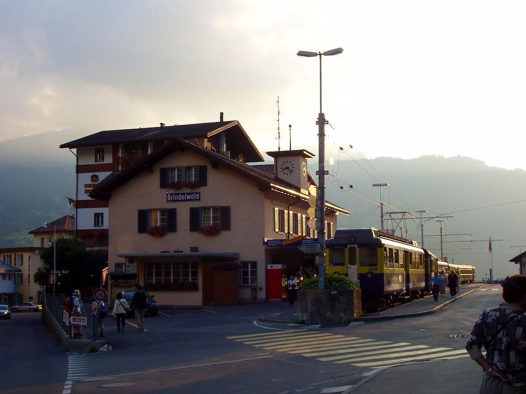 Grindelwald main railway station