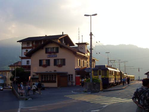 Grindelwald main railway station