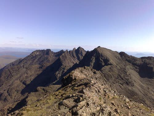 cuillin mountains/scotland/