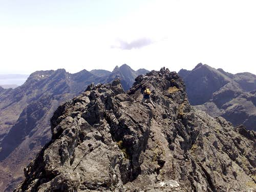 cuillin mountains/scotland/