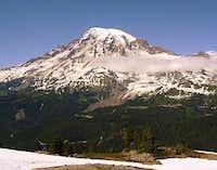 Mt. Rainier from Plummer Peak