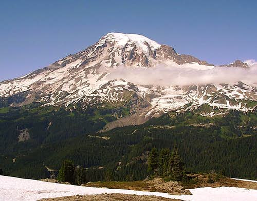 Mt. Rainier from Plummer Peak